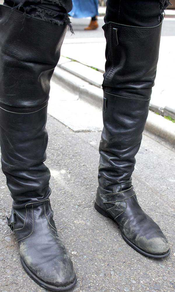 High Boots - The Knee High Boots For Men Are Back - Men Style Fashion