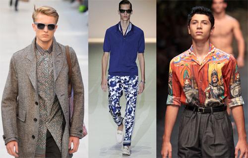 Burberry-Gucci-Dolce-Gabbana, shirts