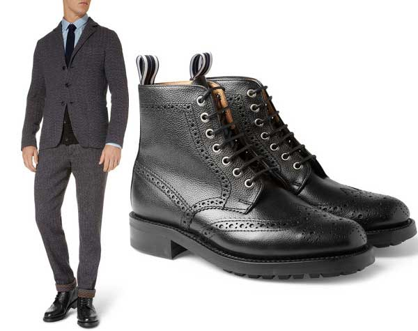 Men's Boots - What is a Brogue, Viper, Hiker, Biker Boot? - Men ...