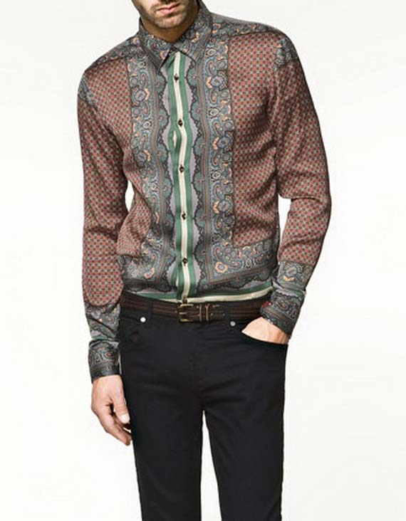 Zara-Men-Shirts, 2012