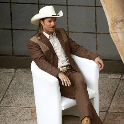 brad pitt, western fashion,ridley scott, the counselor 2012