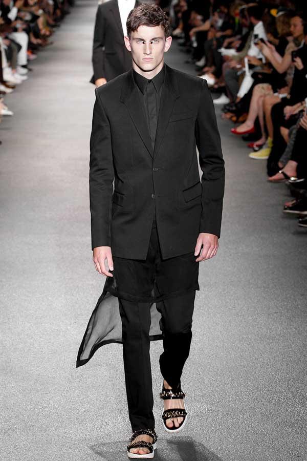 Givenchyss13 black-suits Givenchy Men Suit