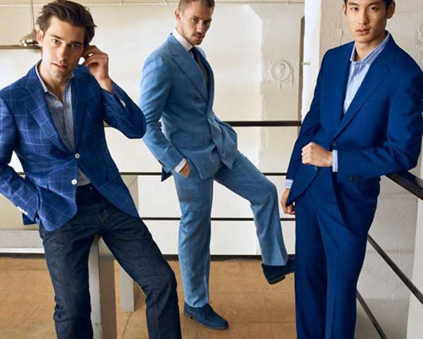 Blue Suits for Interviews