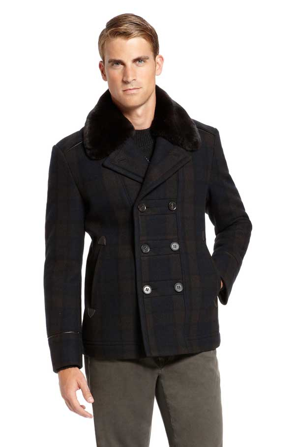 Hugo Boss winter coat for men