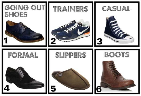 6 pairs of men's shoes you should own