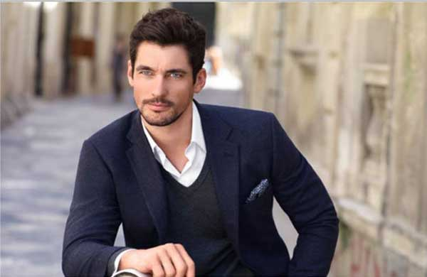 DAVID GANDY modelling for M&S