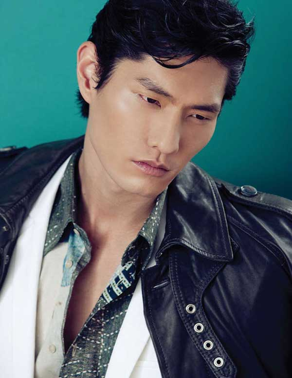 Daniel Liu - DaMan Magazine Asian model