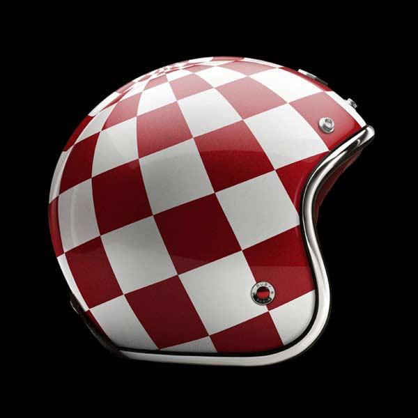 Ruby Pavillon - Monaco helmets