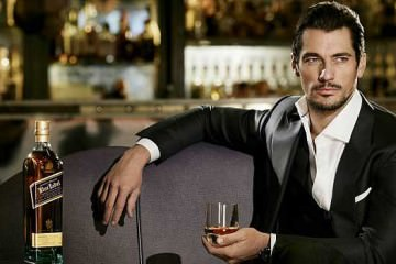 David Gandy for Johnnie Walker 2012