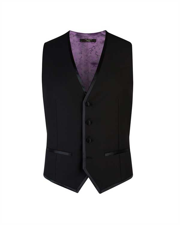Pashion Dinner Suit Vest - Ted Baker