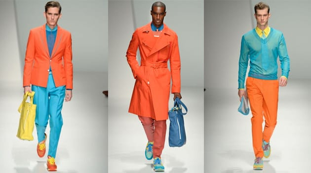 50 shades of orange - Mens fashion