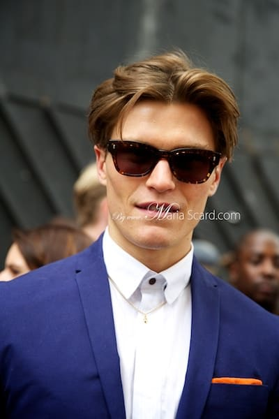 Oliver Cheshire - Marks & Spencer Model Back to British