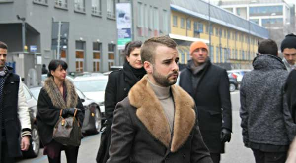 Fur coat for men 2013