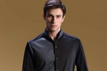 Confident Man in black shirt
