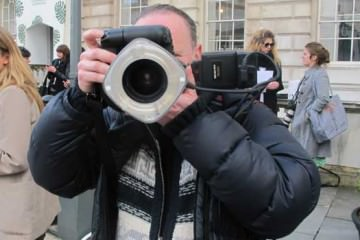 London Fashion week Photographers in Action