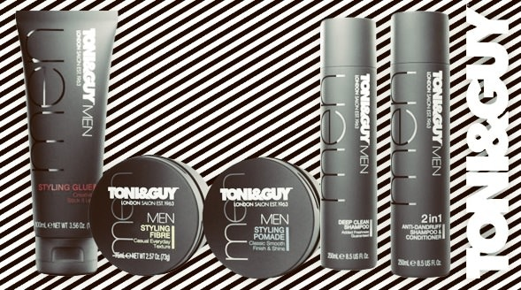 Toni & Guy - Men's Hairstyles Trends for 2013 - Men Style Fashion