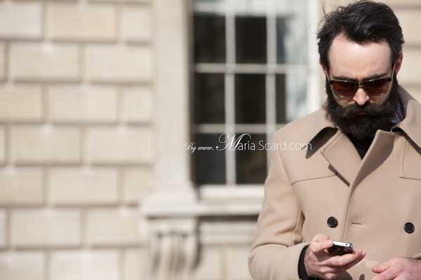 Chris Chasseaud - London Fashion Week