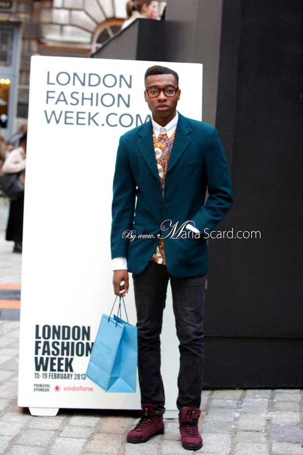 London Fashion Week - What the men wore