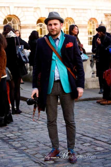 London Fashion Week - Hat's for men