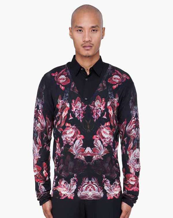 Prints and patterns fashion for men for Flower print mens shirt