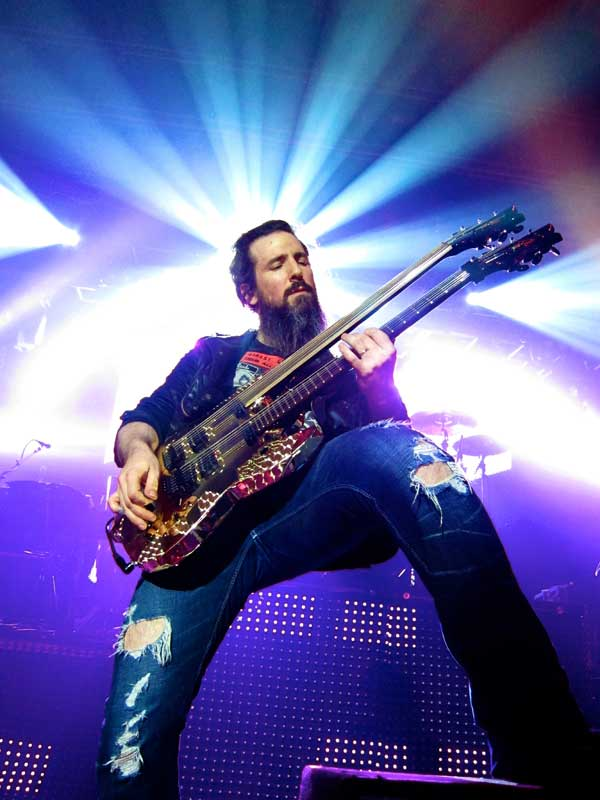Bumblefoot - The Ritz NYC (photo by Dan Feeney)