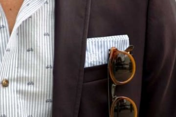 Stripes and Bikes - Burgundy jackets for men 2013