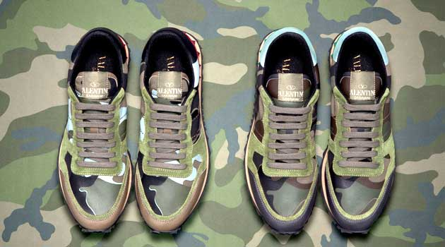 Valentino Camouflage Collection in Collaboration with Liu Bolin 2013