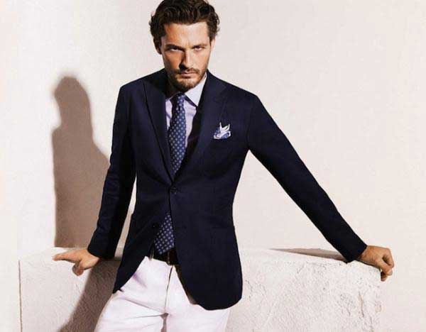Blue Blazers For Men Are You Feeling Blue Men Style