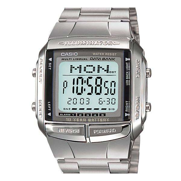 retro lcd watches bring back the eighty s wrist fashion men casio databank db360