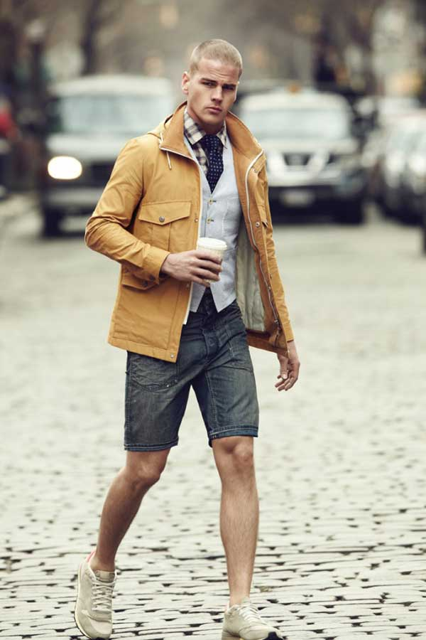 What to Wear With Jean Shorts Men Jean Shorts For Men