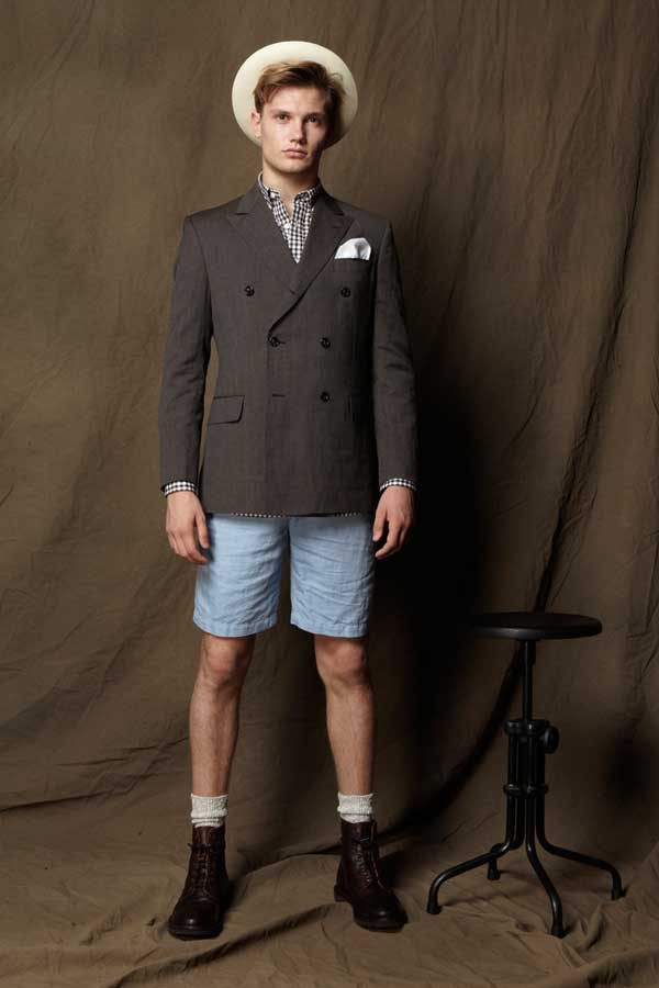 Shorts for men - blue denim summer 2013