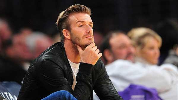 David Beckham- leather jackets fashion 2013