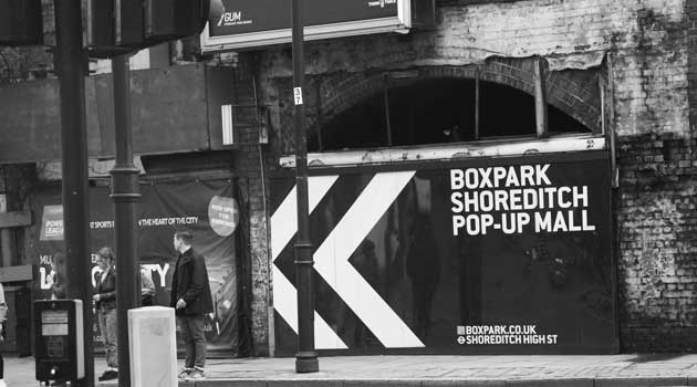 Box Park - Shorditch East London