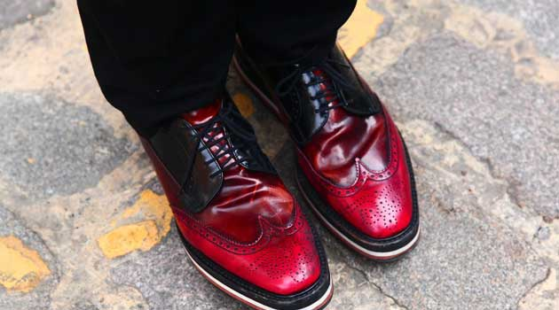 Shoreditch East London - Funky shoes for men