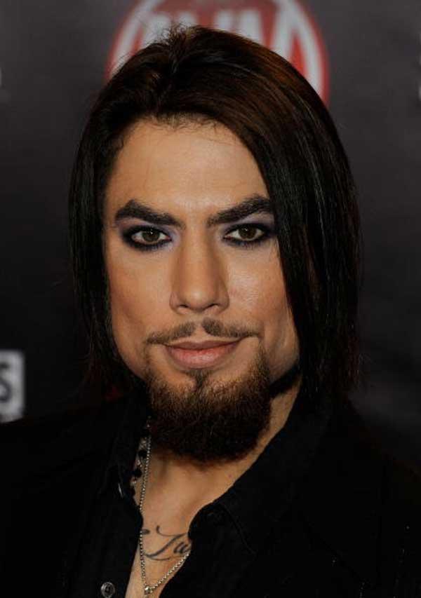 Dave Navaro - Wearing make-up for men 2013