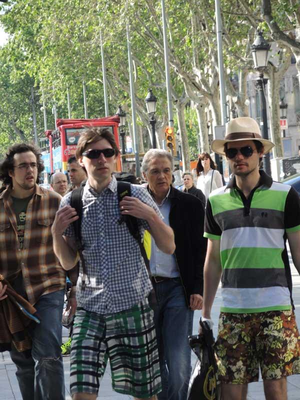 Green shorts for men 2013