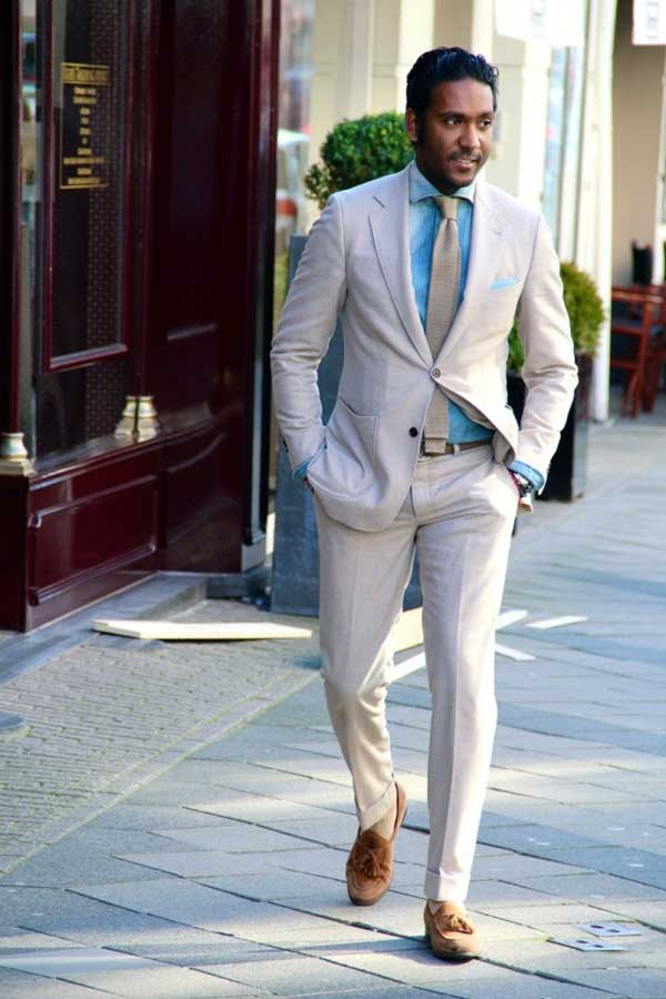 Linen Suits - What Men Are Wearing For 2013 - Men Style Fashion
