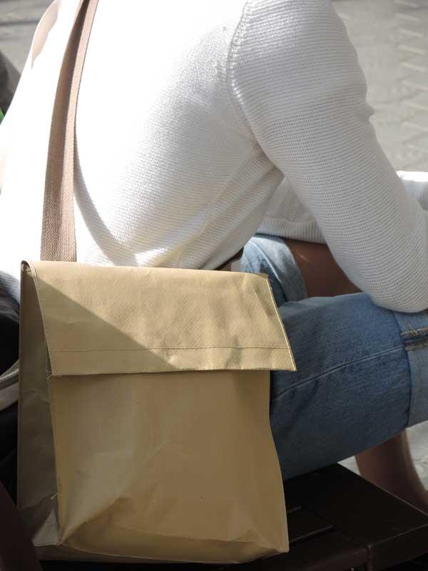 Beige bags for men 2013