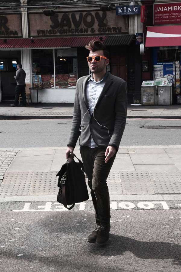 Street Fashion - East London - Shoreditch - Boxpark