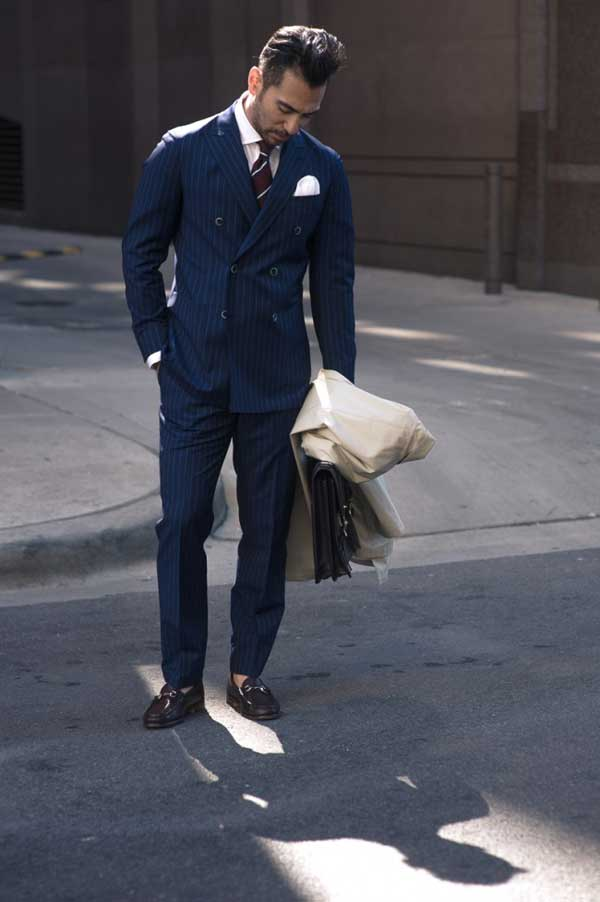 Similiar Pinstripe Suits Are In Style Keywords