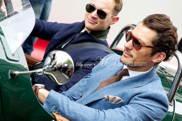 David Gandy - Driving 3 wheeler car