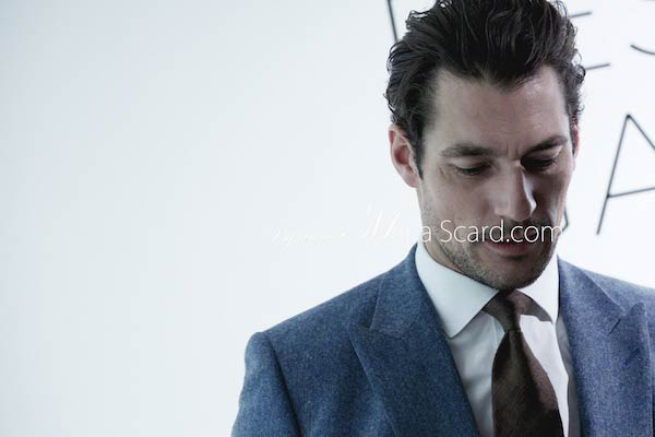 David Gandy - Reiss London Collections men