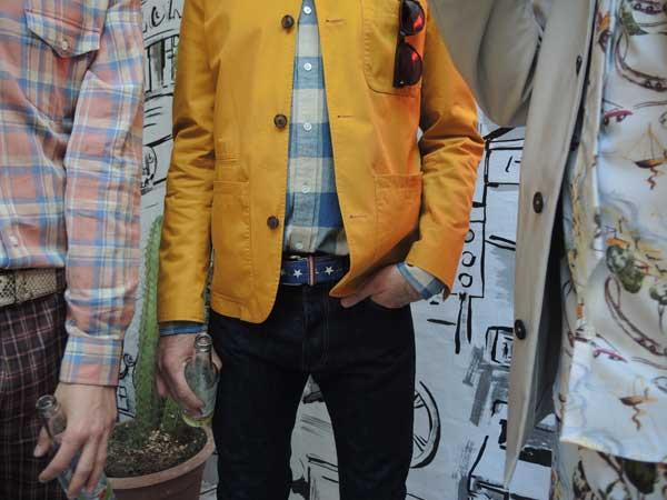 Hentsch Man - Spring Summer 2014 Collection - Mustard Jacket