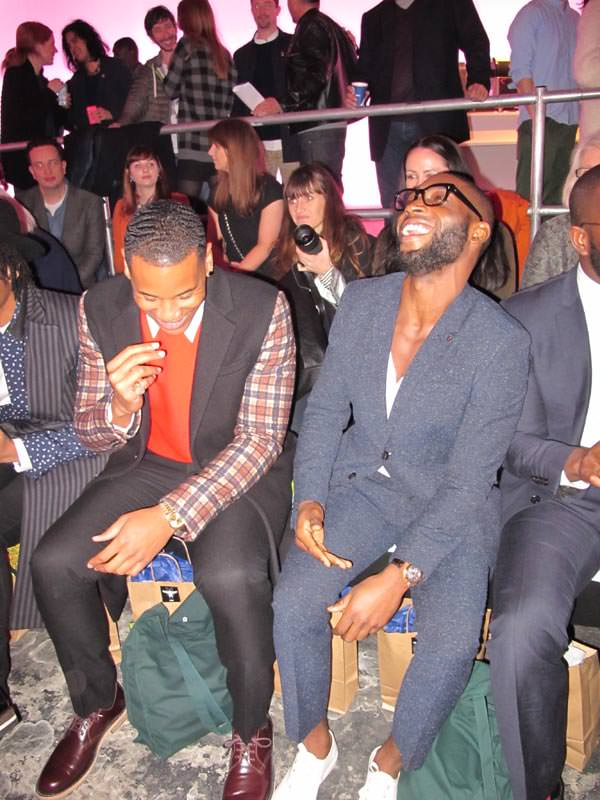 Tinie Tempah and Reggie Yates - London Collections Men January