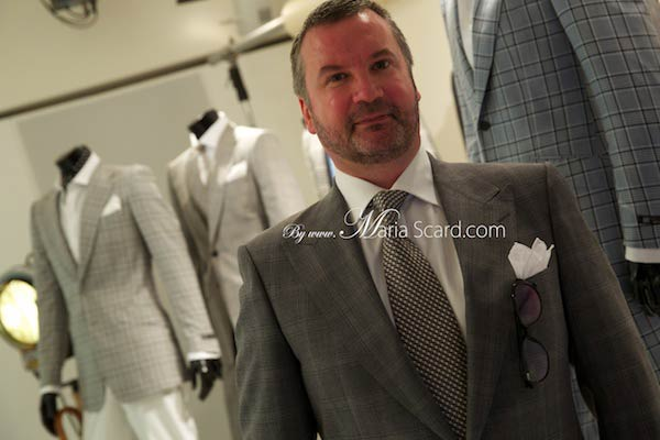 Tony O'Connor  Head of Design for menswear at Marks & Spencer