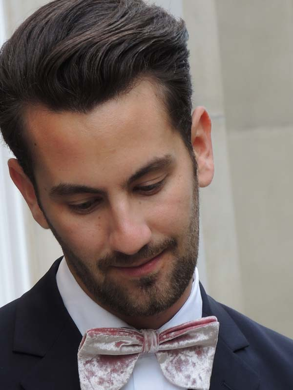 Dolce & Gabbana - Velsvoir silhouette Bow Tie Matthew Zorpas