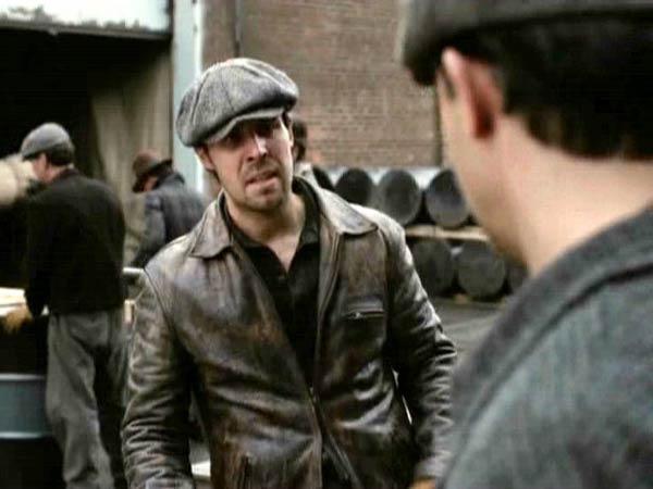 Paddy Considine Motorbike Leather Jacket