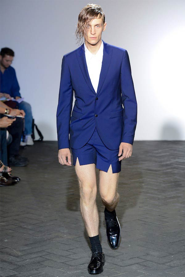 Raf Simons - Electric suit shorts for men