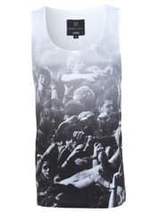 Reggie Yates Mosh Pit Scene Printed Vest