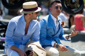 Summer blue blazers for men 2013